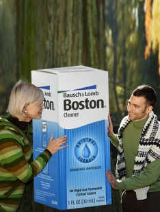 Boston Cleaner Bausch & Lomb Solutions & Drops