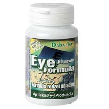 Eye and vision formula with selenium picture
