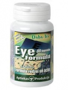 Eye and vision formula with selenium