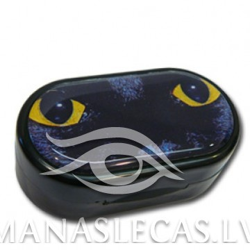 Contact lens case Cat picture