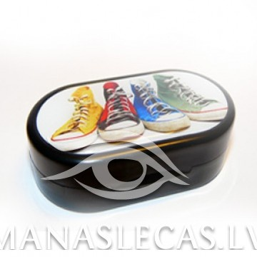 Contact lens case Sneakers picture