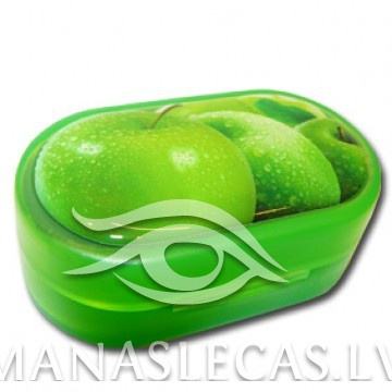 Contact lens case Apple picture