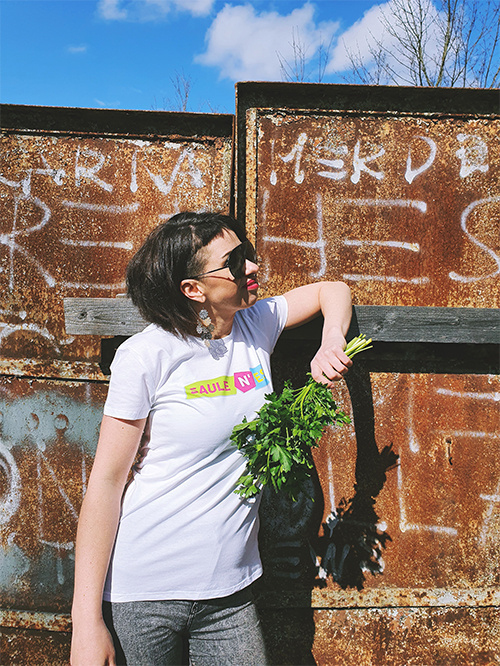 T-krekls Saulenes picture