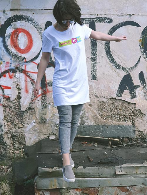 Long length T-shirt Saulenes picture