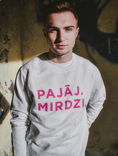 Sweater Pajāj. Mirdzi.