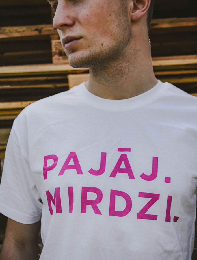 T-krekls Pajāj. Mirdzi. picture