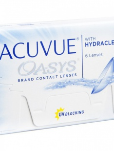 Acuvue Oasys Johnson & Johnson Monthly disposables