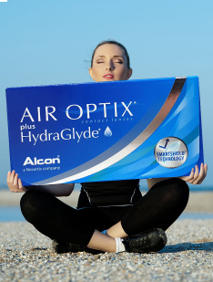 Air Optix HydraGlyde (Aqua)