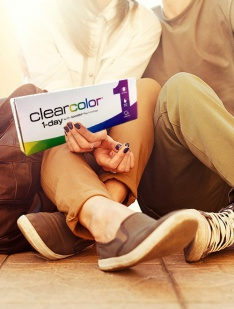 clearcolor 1-day Clearlab Krāsainās kontaktlēcas
