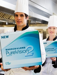 PureVision 2 HD Bausch & Lomb Monthly disposables