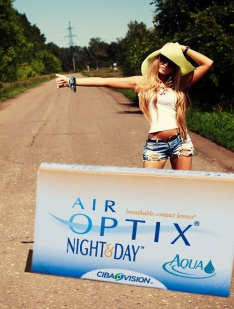 Air Optix Night and Day Ciba Vision Monthly disposables