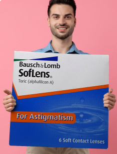Soflens Toric Bausch & Lomb Toric contact lenses